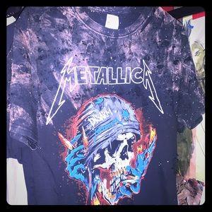 Metallica custom top